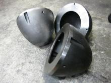 Nose cone for marine propellor